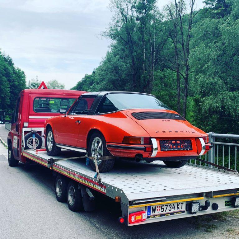 Autotransport Porsche